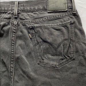 Levi 710 Super Skinny Black Jeans
